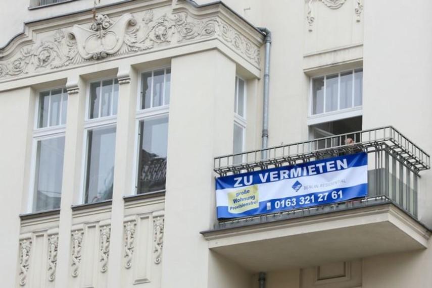 В Берлине сдают в аренду палатку на балконе