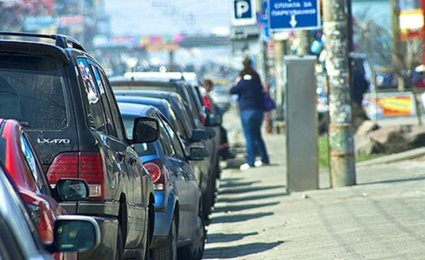 В Киеве впервые продали на аукционе право аренды парковок
