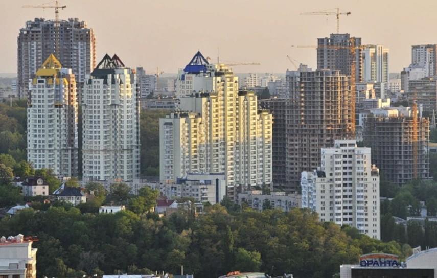 В Украине растет ввод в эксплуатацию жилья