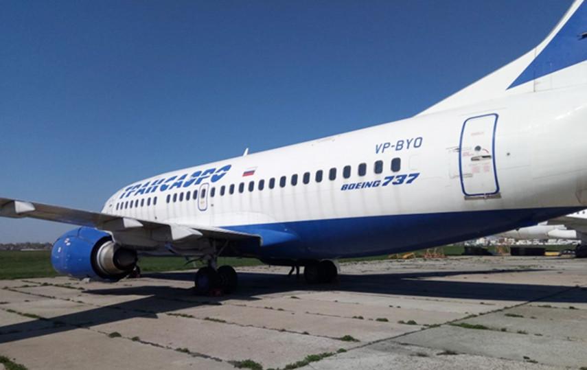 Украина выставила на аукцион российский Boeing, арестованный за долги