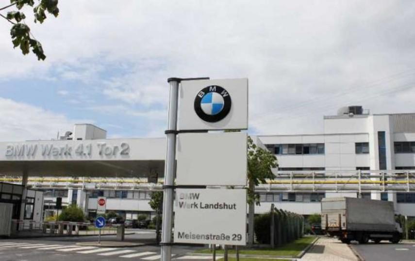 В Германии загорелся завод BMW