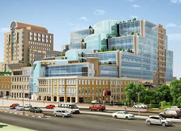 В 2019 году откроется ТЦ «Смоленский пассаж 2» площадью 15,000 кв м