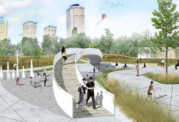Что изменилось во вновь открывшемся парке в Строгинской пойме в Москве