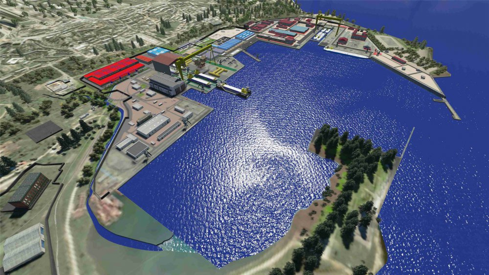 Что решили построить на территории судостроительного комплекса «Звезда»