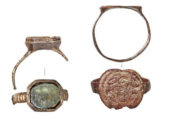 Старинные перстни обнаружили во время благоустройства переулка в Москве