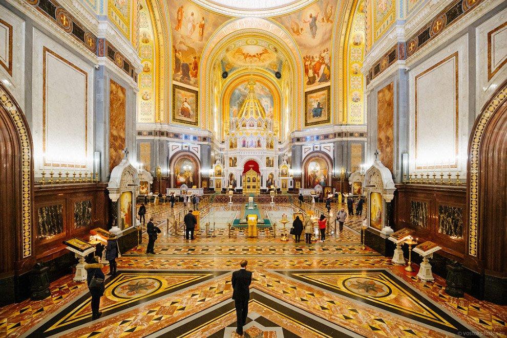 Выяснилось, кто будет ремонтировать Храм Христа Спасителя