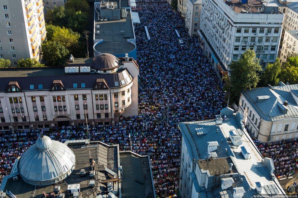 Ураза-байрам в Москве: какие улицы перекроют и где нужно предъявлять паспорт