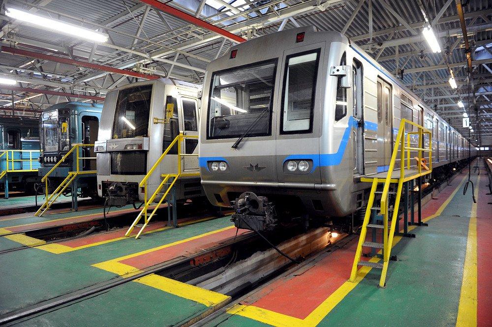 Четыре новых электродепо построят для столичного метрополитена