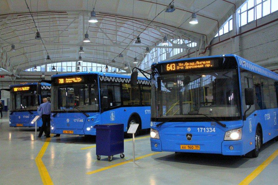 Объявлен конкурс на строительство автобусного парка в Москве за 1,5 млрд рублей
