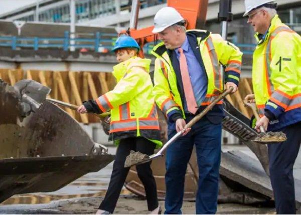 Начались работы по расширению аэропорта в Ванкувере стоимостью $6,8 млрд