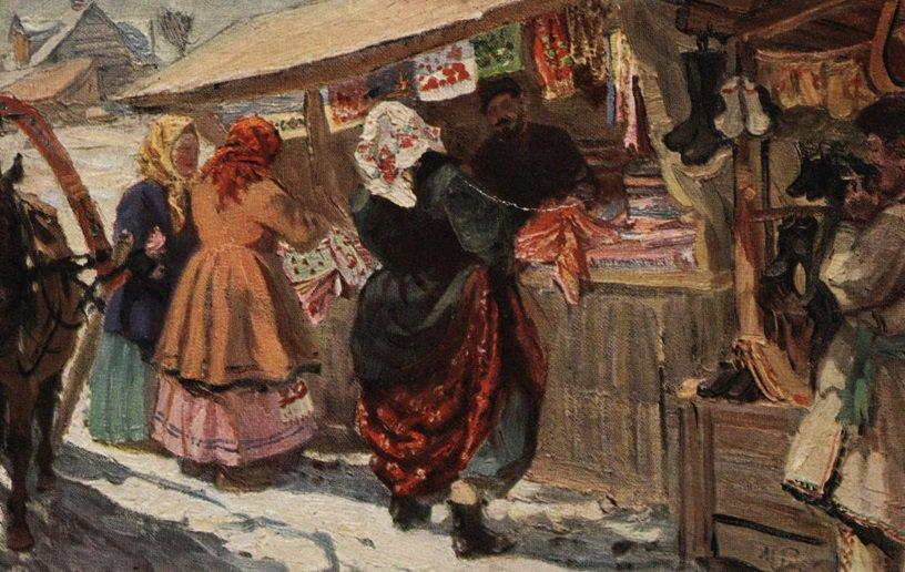 Археологи нашли место в Москве, где в XV веке активно торговали тканями
