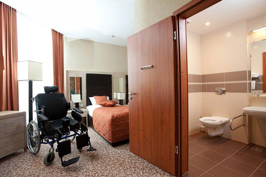 Какой построят гостиницу с номерами для инвалидов