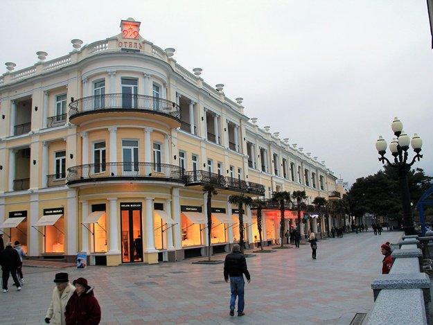 Центр Ялты реконструируют по проекту итальянского архитектора