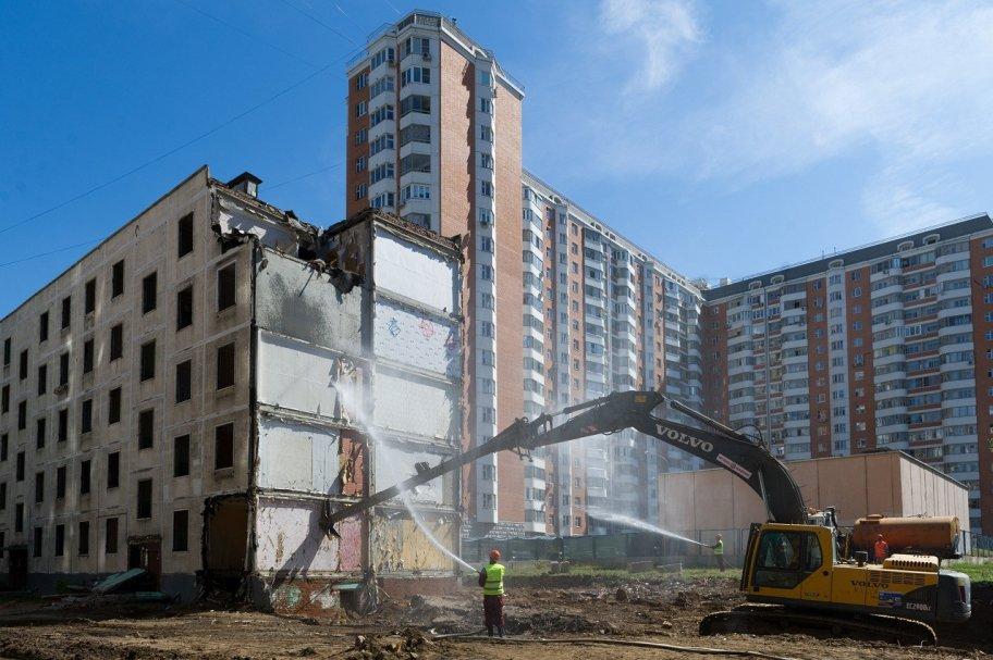 Власти Москвы еще больше ускорят строительство жилья по реновации