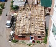 В Соломенском районе демонтировали МАФ, площадью более200 квадратных метров