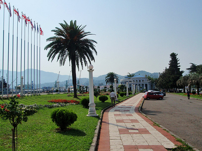 Лучшие морские курорты Грузии (Фото)
