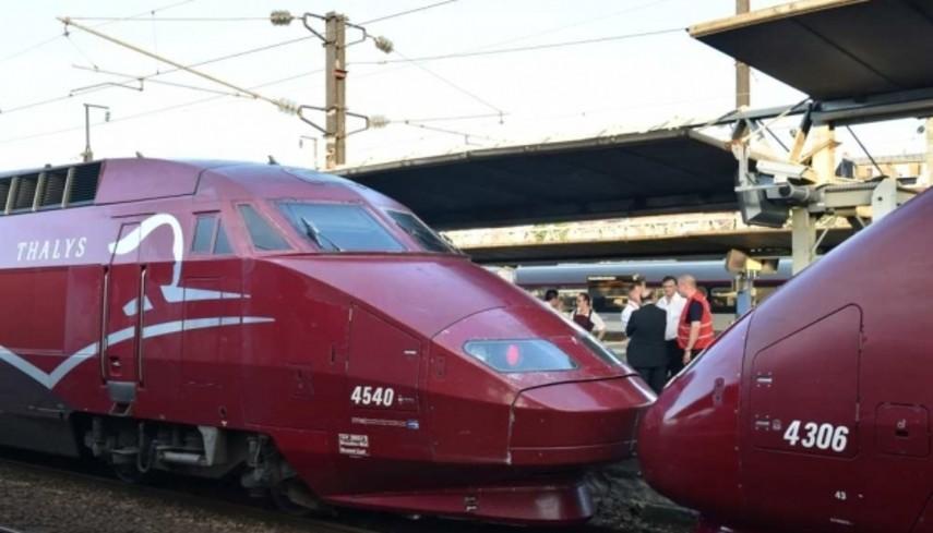 Под Ла-Маншем остановили движение поездов