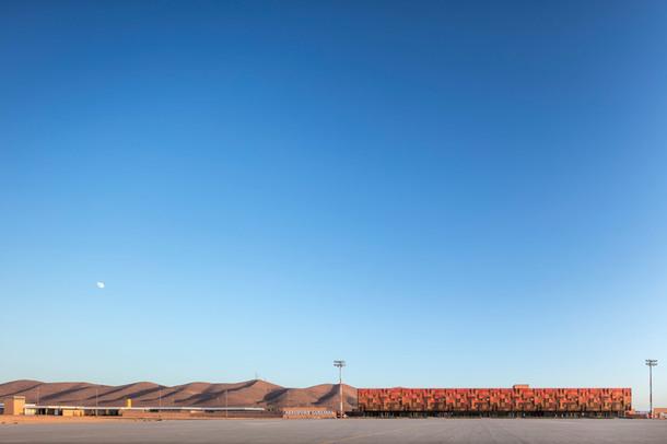 Новый необычный аэропорт в Марокко (Фото)