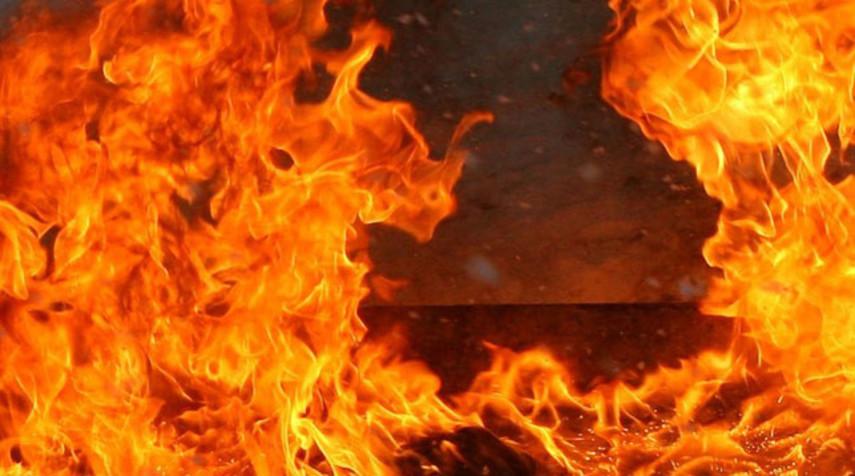 В Херсоне горел дом народного депутата