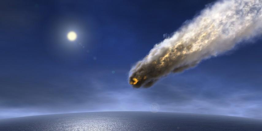 Над Африкой взорвался двухметровый астероид (Видео)