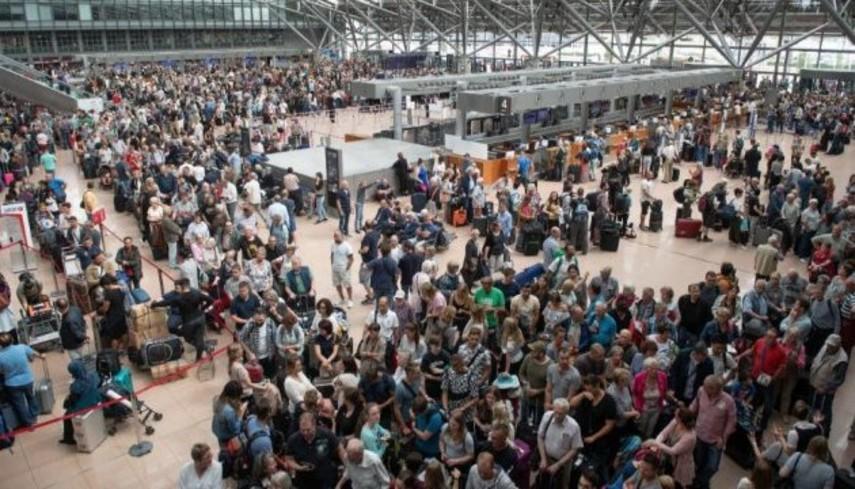В Гамбурге закрыли работу аэропорта
