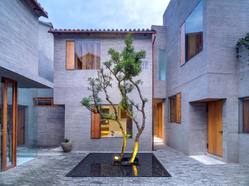 Миниатюрный бетонный отель в Дали (Фото)