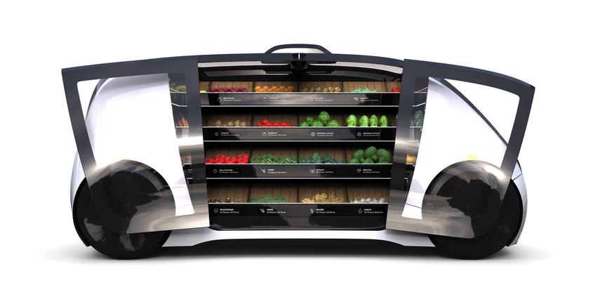 В США запустят беспилотные киоски для продажи фруктов и овощей (Видео)