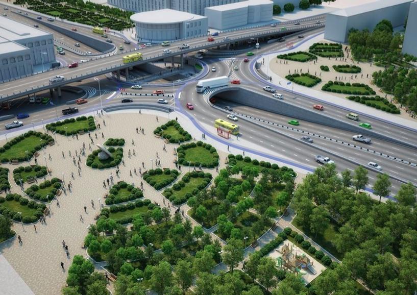 Почему Шулявская развязка в виде неполного клевера не решит транспортную проблему центра Киева