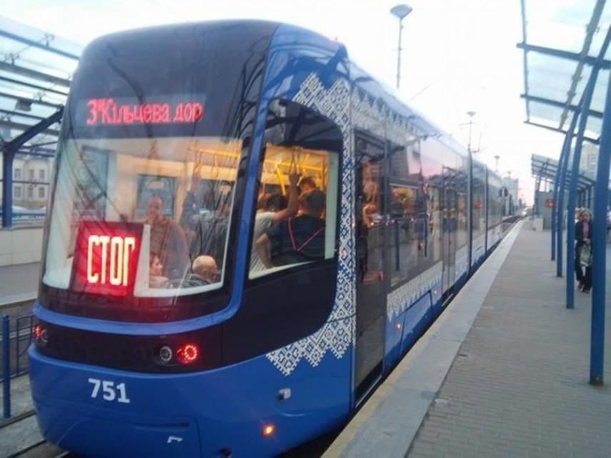 В Киеве временно закроют три трамвайных маршрута