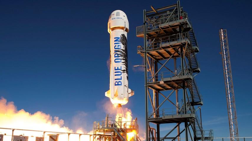 Blue Origin начнет продавать билеты в космос в 2019 году
