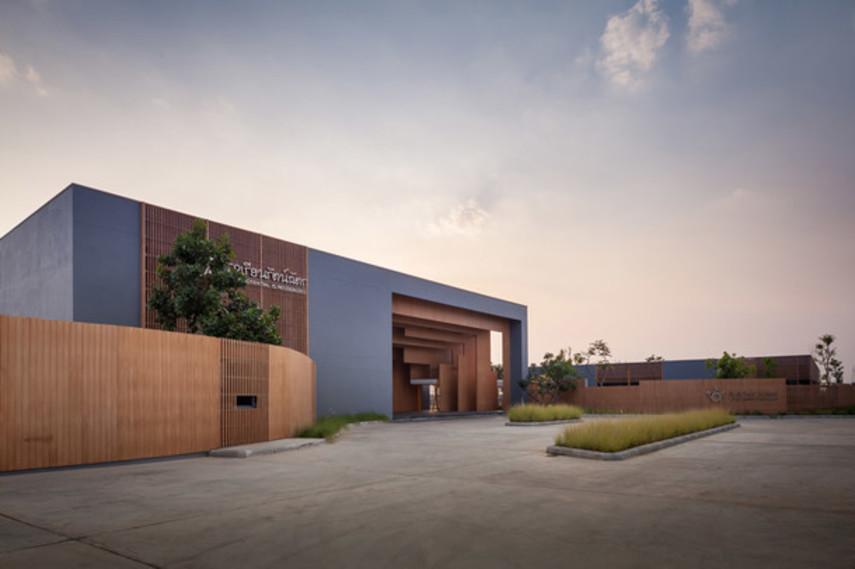 Как выглядит современная школа в Таиланде (Фото)