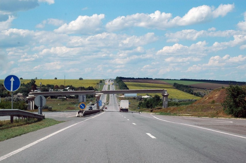На трассе Киев-Одесса ограничили движение