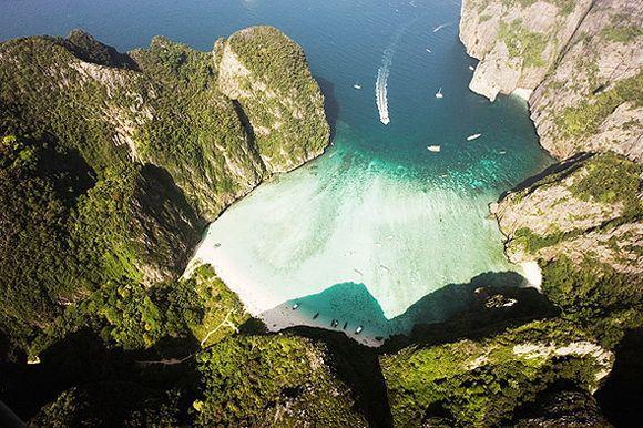 Самые роскошные бухты мира (Фото)