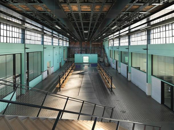Культурный комплекс в здании бывшей шахты (Фото)