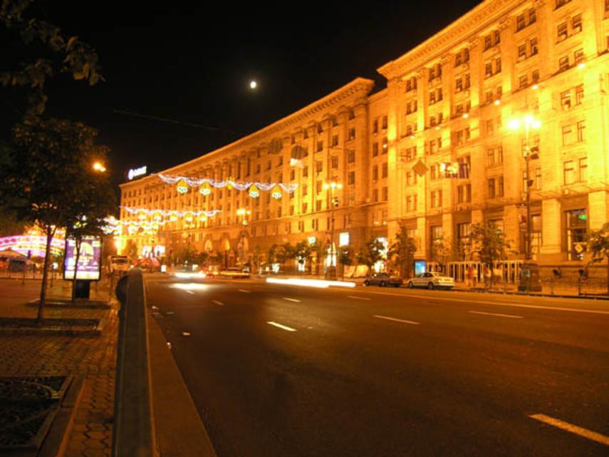 В Киеве снова перекроют Крещатик