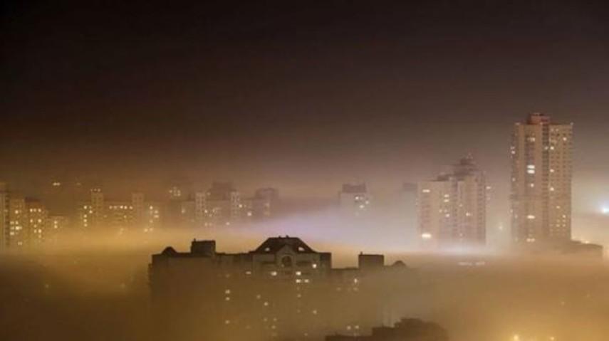 Загрязнение воздуха в Киеве превышает норму в 4-6 раз (Адреса)