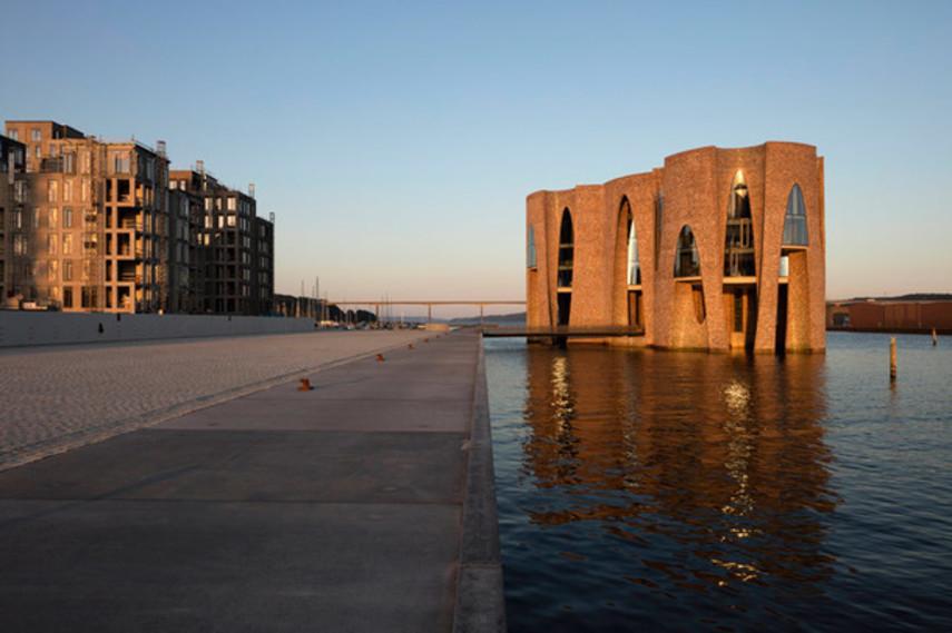 Штаб-квартира на воде в Дании (Фото)