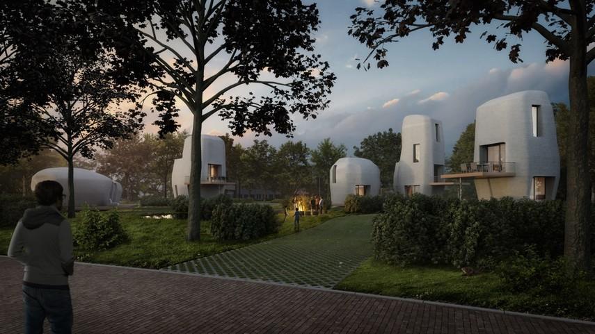 В Нидерландах построят первый в мире напечатанный жилой дом (Фото, Видео)