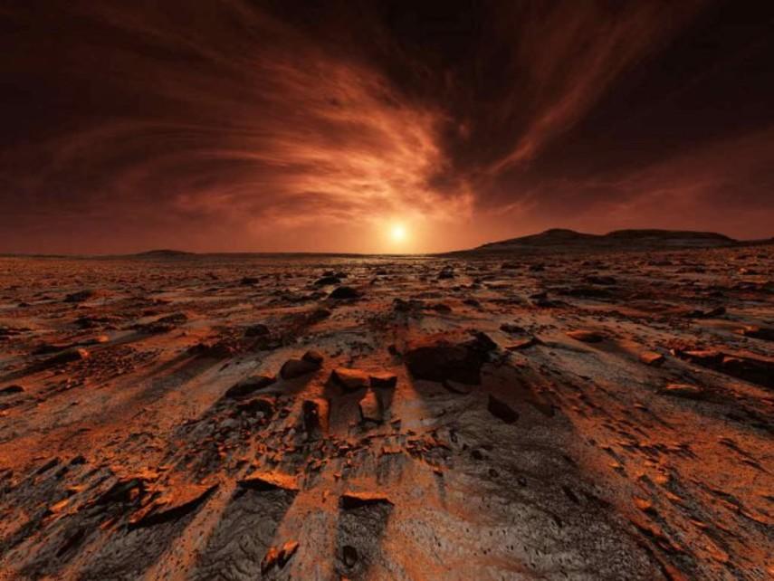 Ученые нашли способ получения кислорода на Марсе