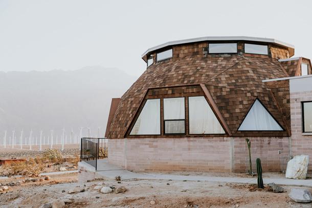 Футуристический купольный дом в Калифорнии (Фото)