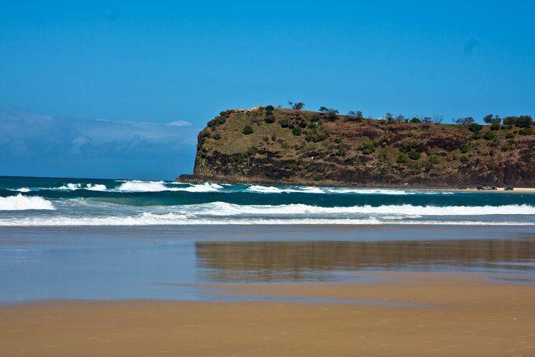 Как выглядит самый большой песчаный остров в мире (Фото)
