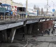 Шулявский путепровод обещают ремонтировать не больше года