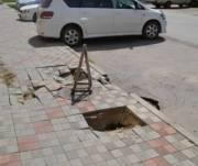 Люки и дождеприемники на тротуарах проектировать больше не будут