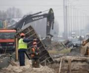 Ремонт Окружной дороги в районе улицы Богатырской завершат осенью 2019 года