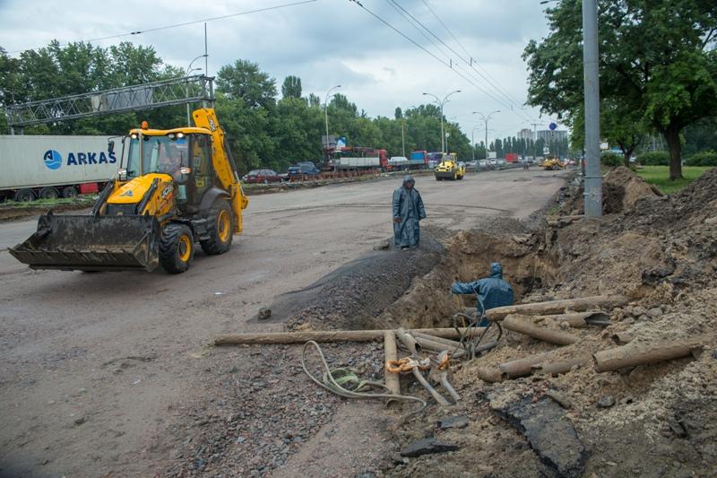Ремонт улицы Заболотного