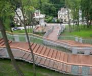 Завершен ремонт лестницы на Пейзажной аллее