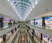 В успешных торговых центрах Киева почти нет свободных помещений