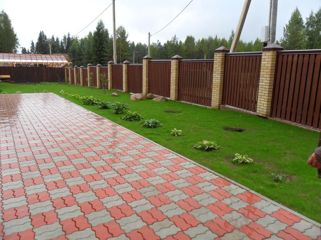 Тротуарная плитка «Кирпич» по выгодной цене