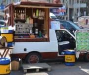 Передвижная торговля в Киеве теперь будет с голограммой