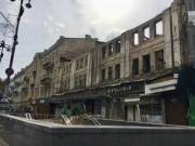Опубликованы фото разрушенного центрального гастронома на Крещатике